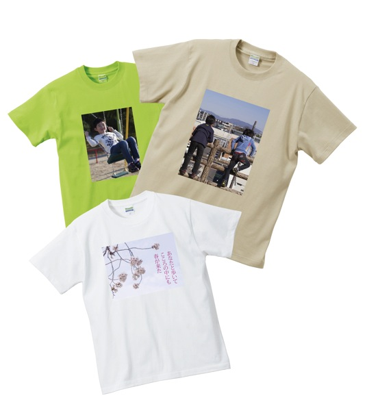 転写プリントTシャツ