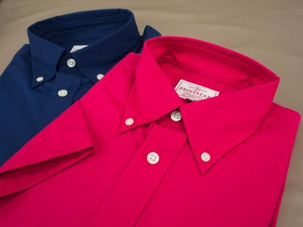 ブロードボタンダウンシャツ