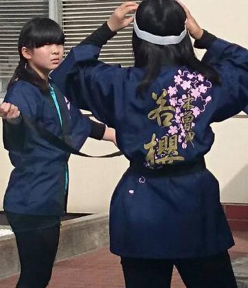 木曽岬櫻華太鼓