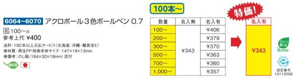 Acroball3価格表